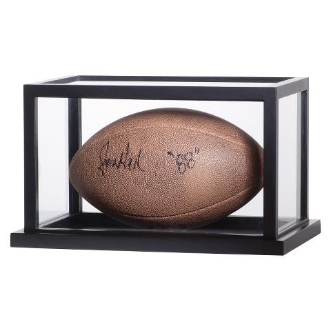 Gallery Football Display Case - Black