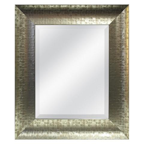 Mosaic Mirror - Champagne 22.5x24.5