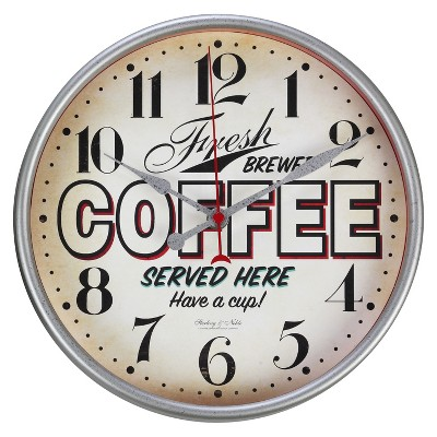 Threshold™ Vintage Diner Wall Clock