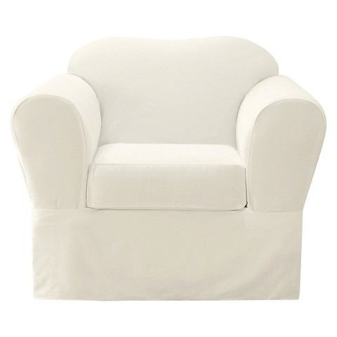 Sure Fit Cotton Twill Slipcovers