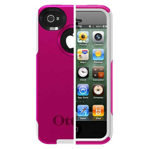 Otterbox Commuter Cell Phone Case for iPhone®4/4S - Pink (77-18549P1)