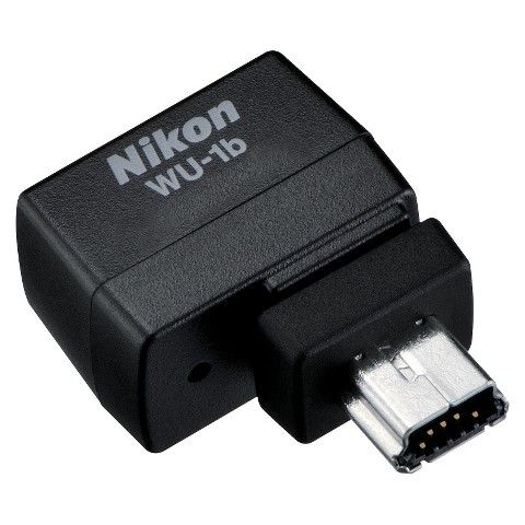 Nikon  WU-1b Wireless Mobile Adapter for Nikon D600 DSLR Camera - Black (13186)