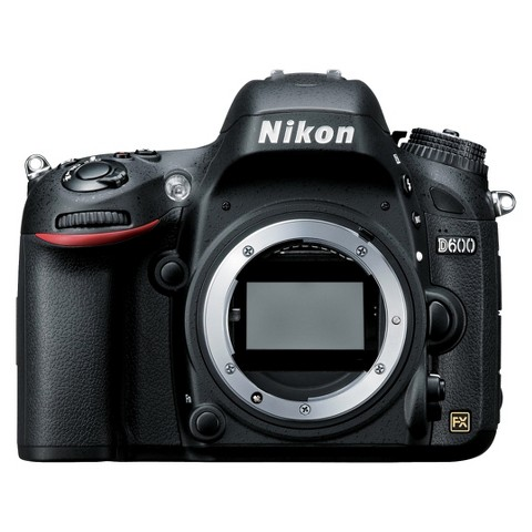 Nikon D600 24.3MP Digital SLR Camera Body - Black (25488)