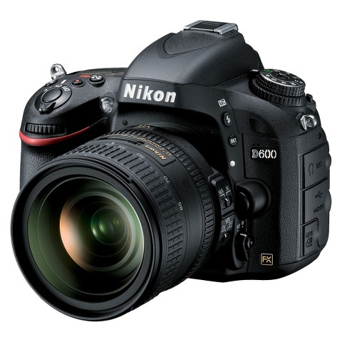 Nikon D600 24.3MP Digital SLR Camera with 24-85mm Lens - Black (13187)