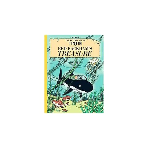 Red Rackham's Treasure (Enlarged) (Hardcover)
