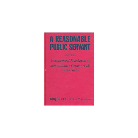 A Reasonable Public Servant (Hardcover)