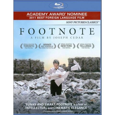 Footnote (Blu-ray)