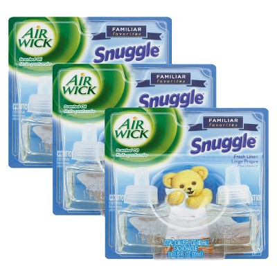 Airwick Scented Oil Snuggle Fresh Linen 1.34floz