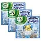 Air Wick Snuggle Fresh Linen Scented Oil Refills 0.67 oz 6 ct