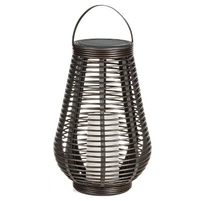 Rattan Lantern Large Tear Drop - Threshold™