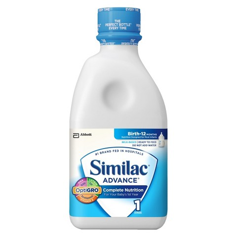 Similac® Advance Ready To Feed Infant Formula 32 Fl oz Bottle (6 Pack)