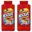 RESOLVE Deep Clean Powder,  18 Ounces,  2 Pack