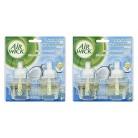 Air Wick Serene Coconut Breeze Scented Oil Refills 0.67 oz 4 ct