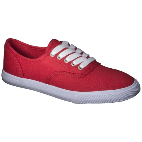 Women's Mossimo Supply Co.™ Lunea Canvas Sneakers - Red