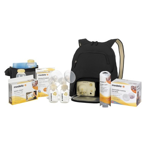 Medela Pump In Style Advanced Breast Pump Backpack with Accessory Kit Bundle