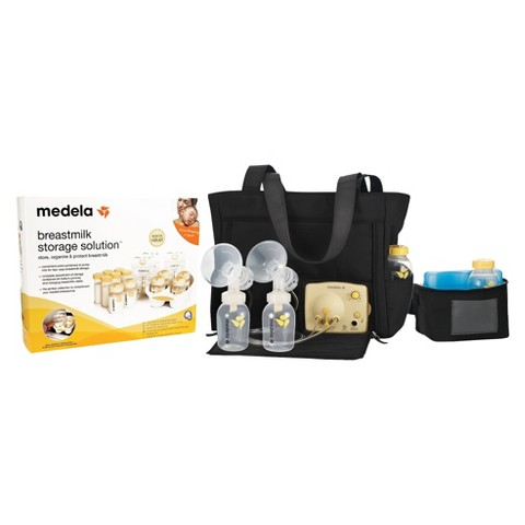 Medela Pump in Style Advanced Breast Pump and Storage Starter Kit Bundle