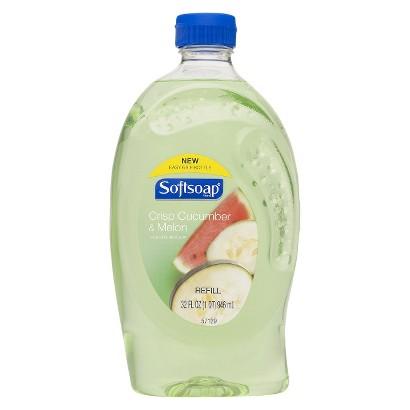 Softsoap Crisp Cucumber & Melon Liquid Hand Soap Refill
