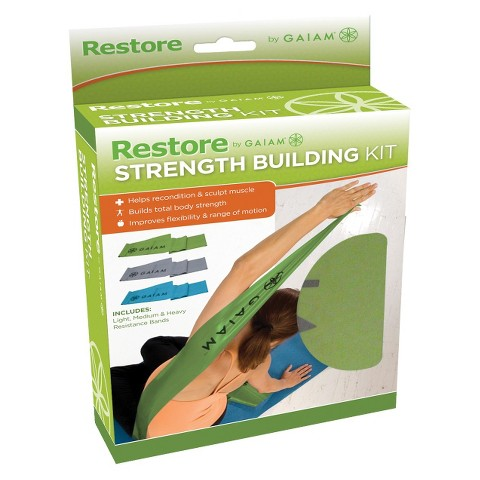 Gaiam Restore Strength Building Kit