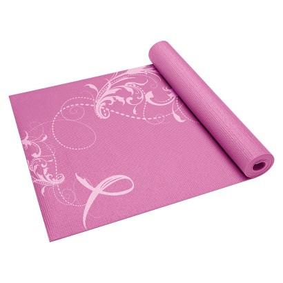 Gaiam Pink Ribbon Yoga Mat