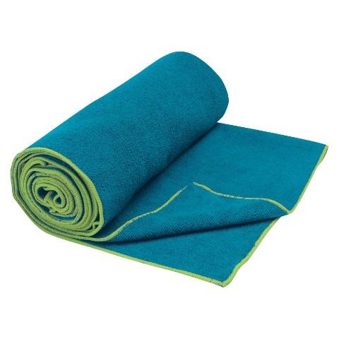 Gaiam Teal Thirsty Towel