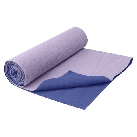 Gaiam Purple No-Slip Towel