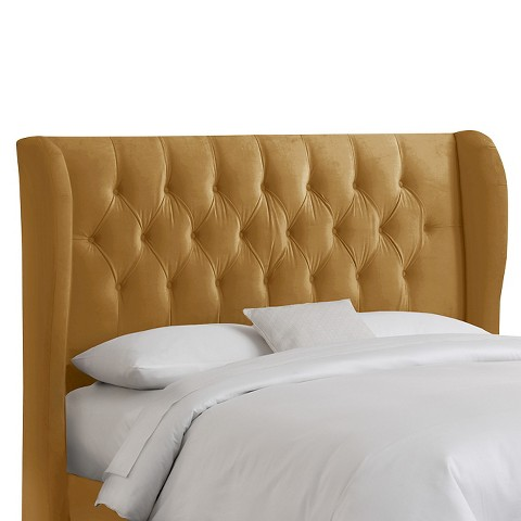 Brompton Tufted Wing Back Headboard