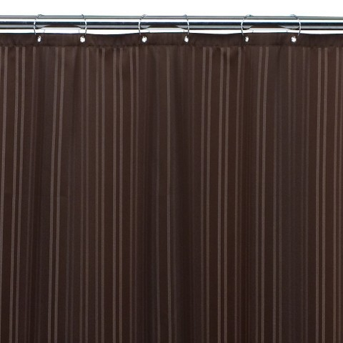 Threshold Fabric Shower Liner Brown Target
