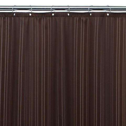 Threshold™ Fabric Shower Liner - Brown