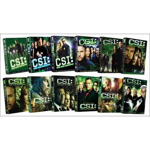 CSI: Crime Scene Investigation - Seasons 1-12 (75 Discs)