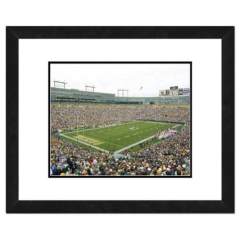 Green Bay Packers Framed Stadium Photo
