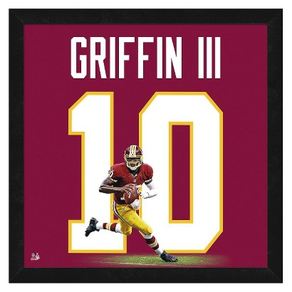 Washington Redskins Robert Griffin III Framed Uniframe