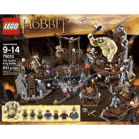 LEGO® The Hobbit Goblin King Battle 79010