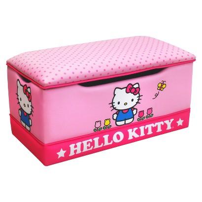 Magical Harmony Kids Deluxe Toy Box - Hello Kitty