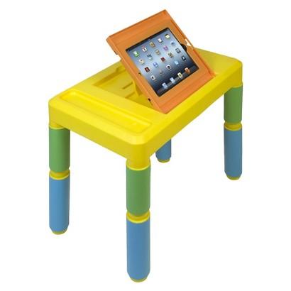 CTA Digital Kids Adjustable Activity Table for iPad - Multicolored (PAD-KAT)