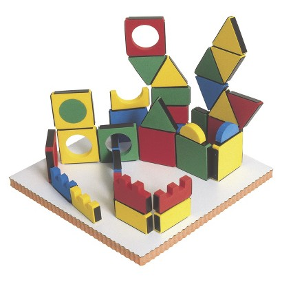 Edushape Magic Shapes 54 Pc with Board