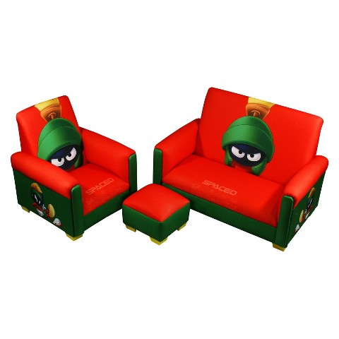 Komfy Kings Kids 3-Piece Toddler Furniture Set - Marvin The Martian