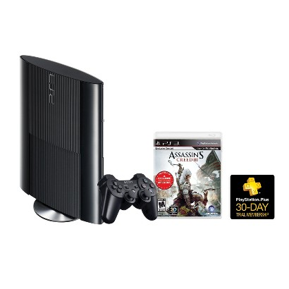 PlayStation 3 and Assassin's Creed III Bundle (PlayStation 3)
