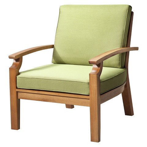 Smith & Hawken Brooks Island Wood Patio Club Chair product details