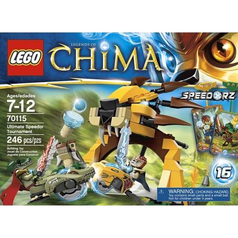 LEGO® Legends of Chima 70115 - Ultimate Speedor Tournament