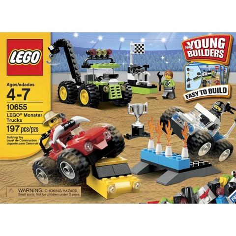 LEGO® Bricks and More Monster Trucks 10655