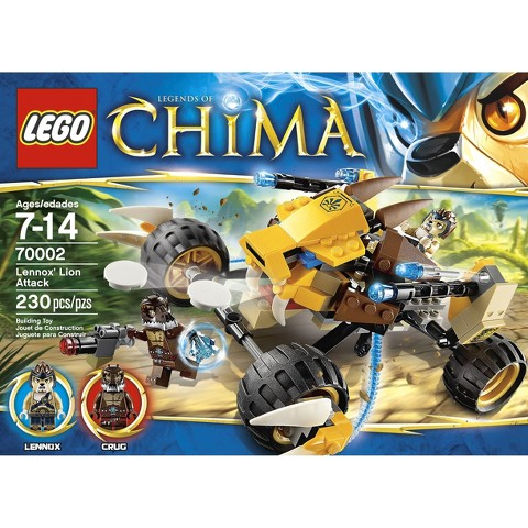 LEGO® Legends of Chima 70002 - Lennox's Lion Attack