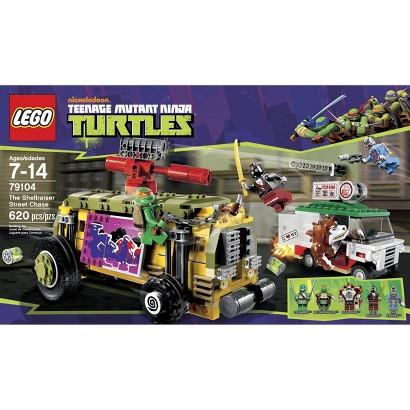 LEGO® Teenage Mutant Ninja Turtles The Shellraiser Street Chase (79104)