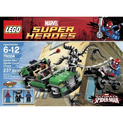 LEGO® Super Heroes Spider-Cycle Chase 76004
