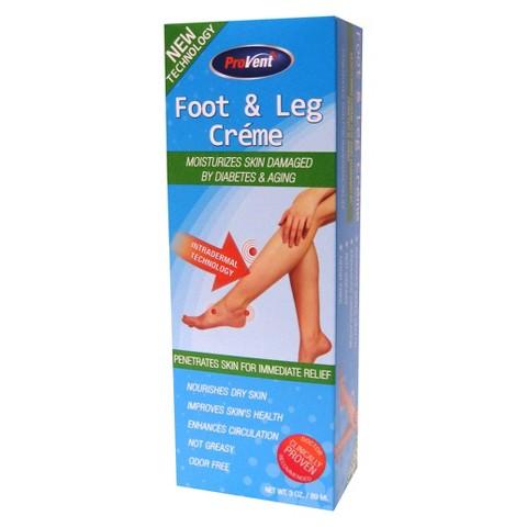 Provent Foot & Leg Creme - 3 oz