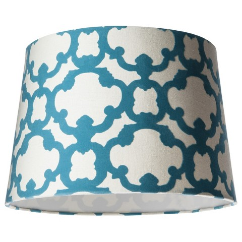 Threshold™ Lamp Shade - Cream/Trout Stream Medium