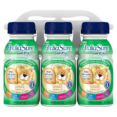 PediaSure® Fiber Vanilla, 8 Fl oz. Bottles (24 Count)