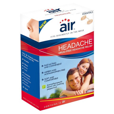Air™ Headache for Headache Relief Aid - 12 Count