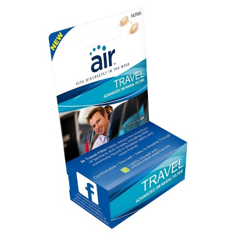 Air™ Travel Advanced Nasal Filter - 4 Count