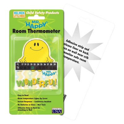 Hallcrest Mr. Happy Room Thermometer - 4 pack