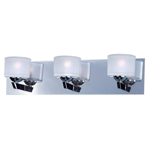 Vortex 3 Light Vanity - Chrome